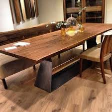 riva 1920 bedrock plank dining table new home pinterest