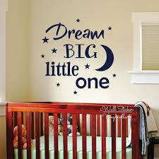 high quality quotes babies buy cheap quotes babies lots from high dream big little one wall art decal baby nursery quotes wall sticker diy kids room vinyl