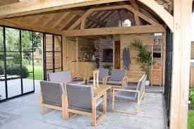 poolhouse in eik west vlaanderen realisaties houten poolhouses