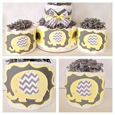 yellow and gray baby shower decorations yellow and grey elephant baby shower decorations best