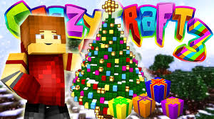 minecraft crazy craft 3 christmas present opening 98 youtube