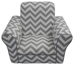 Kids Black Armchair Toddler Rocker Pink Chevron Contemporary Kids Chairs By Fun