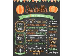 birthday chalkboard lil pumpkin birthday chalkboard