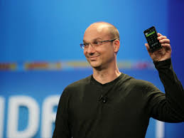 who created android android developer andy rubin might take on apple and with a