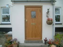 Exterior Door Wood Oak Timber Exterior Doors Made Wooden Windows Doors