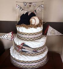 Diaper Centerpiece For Baby Shower by Best 20 Baseball Diaper Cakes Ideas On Pinterest Sports Baby
