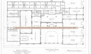 historic colonial floor plans history hotel paisano