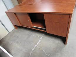 wood metal desk used wood u0026 metal desks recycled office furnishings