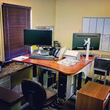 Adjustable Height Desk Reviews by Elevated Desktop Decorative Desk Decoration