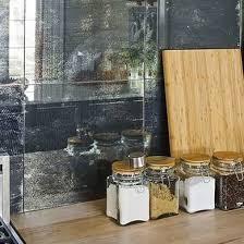 antique mirror backsplash backsplash ideas for a unique kitchen