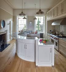 wiltshire curved island kitchen traditional with classic design
