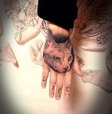 57 best tattoo sphynx images on pinterest cat tattoos sphynx