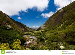 Iao Valley State Park Map by Iao Needle State Park In Maui Wailuku Royalty Free Stock Photo