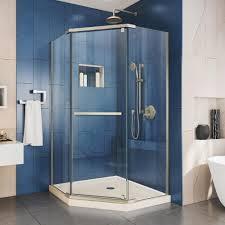 38 Neo Angle Shower Door Delta 35 7 8 In X 35 7 8 In X 71 7 8 In Semi Frameless Neo