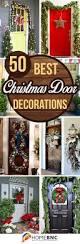 50 best christmas door decorations for 2017 christmas door