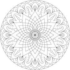 coloring picture mandala coloring pages printable colors