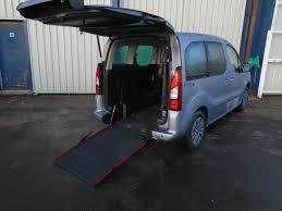 peugeot expert partner van ranges wheelchair accessible peugeot
