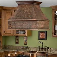 decor copper island range hoods for interesting kitchen