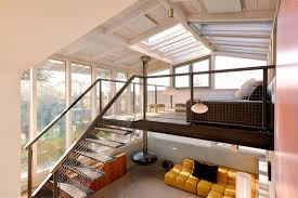 loft design dream holiday home design a loft with glass ceiling