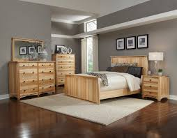 Bedroom Sets With Secret Compartments America Adamstown Panel Bedroom Set In Natural