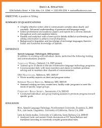 model resume for job bio resume samples