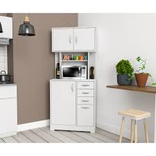 corner kitchen storage cabinet inval corner microwave storage cabinet