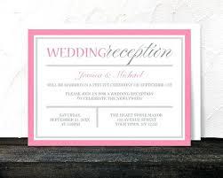 invitations for wedding invitations for wedding reception only wedding reception
