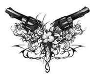 25 unique revolver tattoo ideas on pinterest pistol gun tattoos
