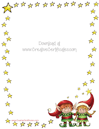 free christmas border templates customize online or print as is