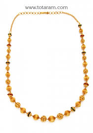 22k gold chain necklace for totaram jewelers buy indian