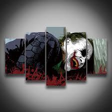 halloween art prints popular joker posters sets buy cheap joker posters sets lots from