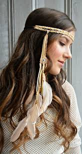 feather headbands found on from beauty