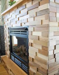 faux diy stone fireplace makeover stone finally something i can