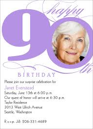 gallery for u003e black and white 90th birthday invitations love thy