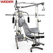 Weider 215 Bench Weider C700 Smith Machine Gym Removable Weight Bench Cable