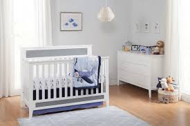 White 4 In 1 Convertible Crib by Carter U0027s Connor 4 In 1 Convertible Crib Davinci Baby