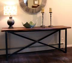 X Base Console Table Console Sofa Tables Hearthwoods