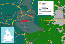 map of areas and surrounding areas file chatsworth house surrounding area map jpg wikimedia commons