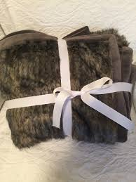 Oversized Faux Fur Throw Pottery Barn Find Offers Online And Compare Prices At Storemeister