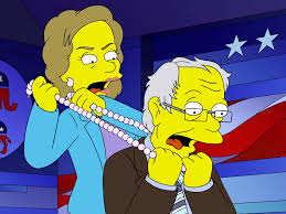 the simpsons u0027 mocks presidential race business insider