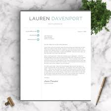 Recommended Font For Resume Professional Resume Template The Davenport