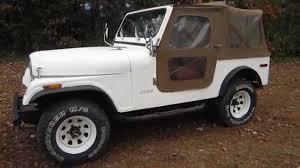 jeep soft top tan 1979 jeep cj7 4x4 soft top doors i 6 sold pt 2