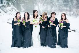 Winter Wedding Dresses 2011 Winter Bridesmaid Dresses For Every Style