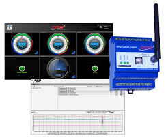m2m data web interface for remote data acquisition