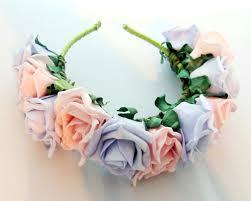 flower headbands diy diy floral headband tutorial a hairband some ribbon glue