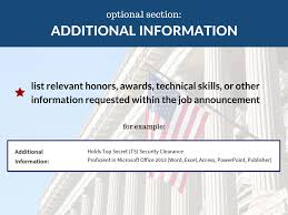 Usa Jobs Resume Keywords by Federal Resume