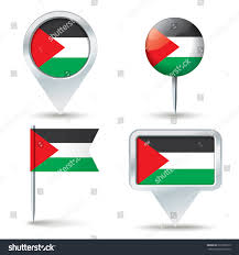 Seoul Flag Map Pins Flag West Bank Vector Stock Vector 297992519 Shutterstock