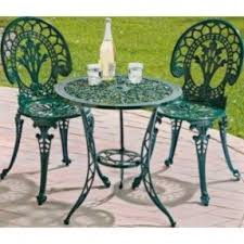 Bistro Patio Table And Chairs Set Bistro Patio Furniture Sets Foter