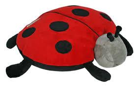 light up ladybug pillow pet amazon com cloud b plush aroma pillow sleep aid twilight ladybug