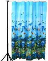 Shower Curtains With Fish Theme Slash Prices On Fish On Hooks Fishing Lure Rods Fisherman Gifts